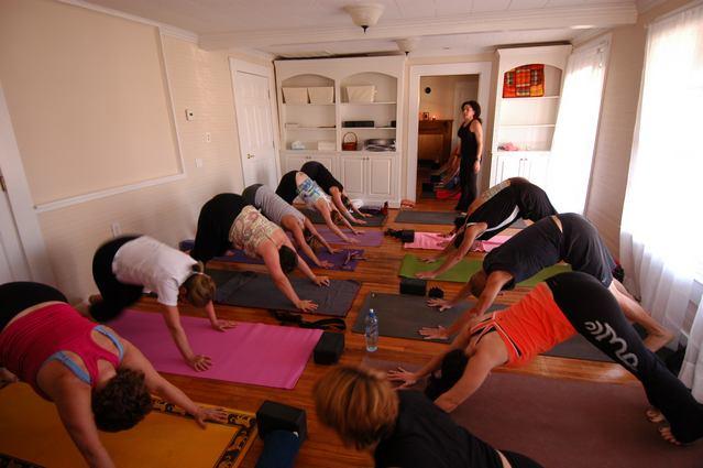 Yoga Class at Urban Bliss Yoga in Cornelius