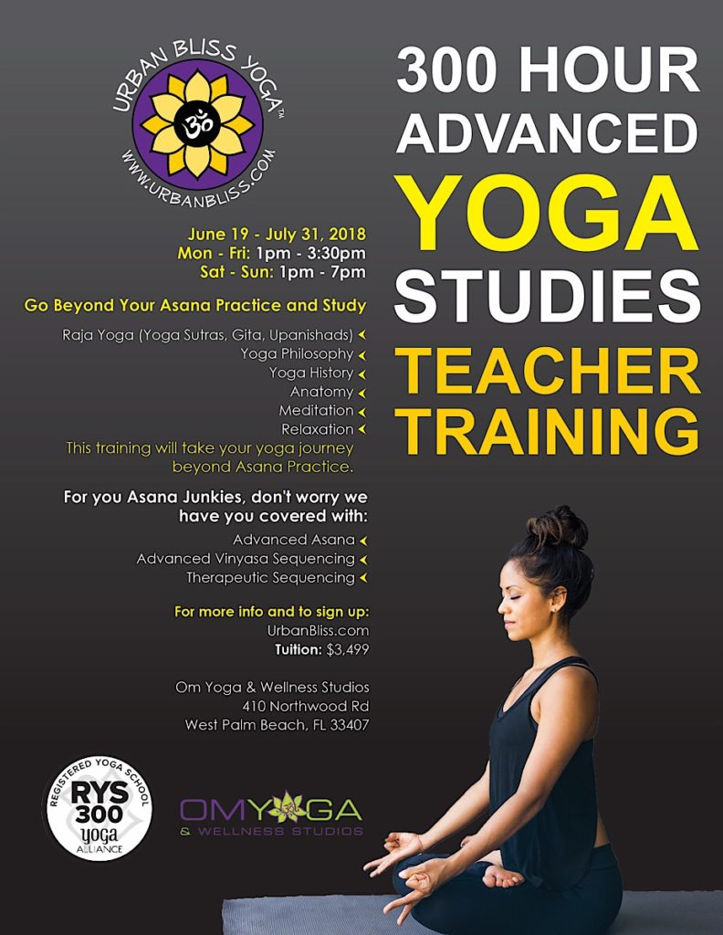 West Palm Beach Yoga Teacher Training