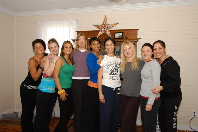 First Yoga Teacher Training Group at Urban Bliss Yoga in Cornelius, NC