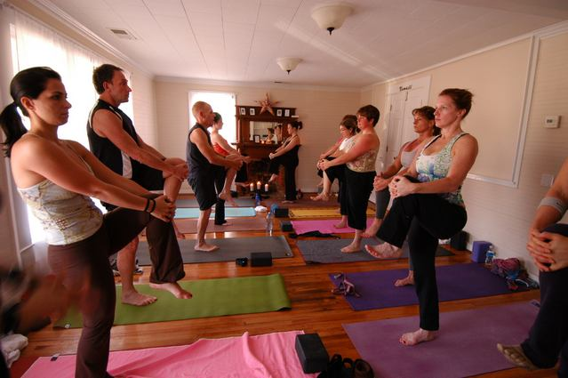 Urban Bliss School of Yoga in Cornelius, NC