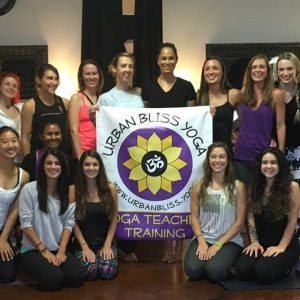 Yoga Teacher Training with Urban Bliss Yoga