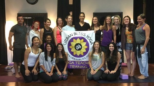 Yoga Teacher Training with Urban Bliss Yoga