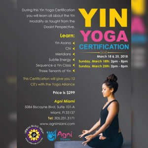 Yin Yoga Certification in Miami