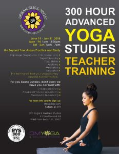 300 hour Yoga Teacher Training in West Palm Beach