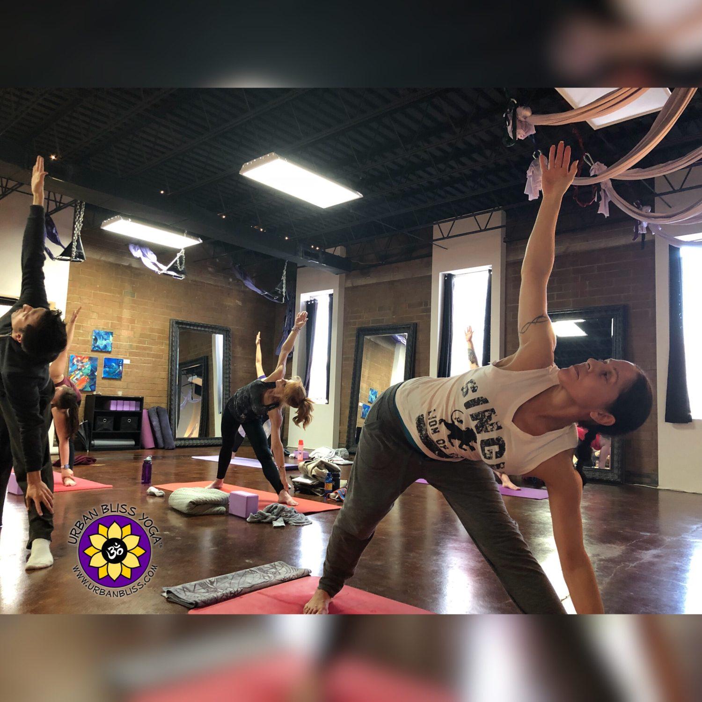 Private Yoga Teacher Training Student Teaching Urban Bliss Yoga