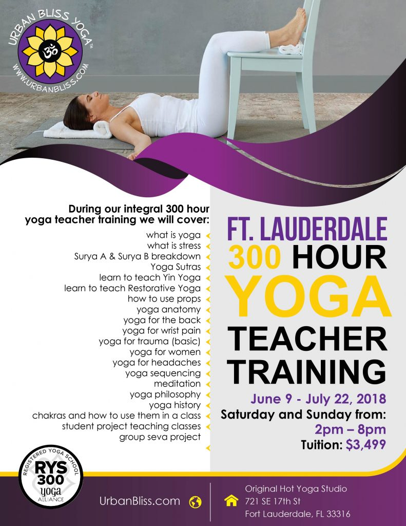 Fort Lauderdale Yoga Teacher Training