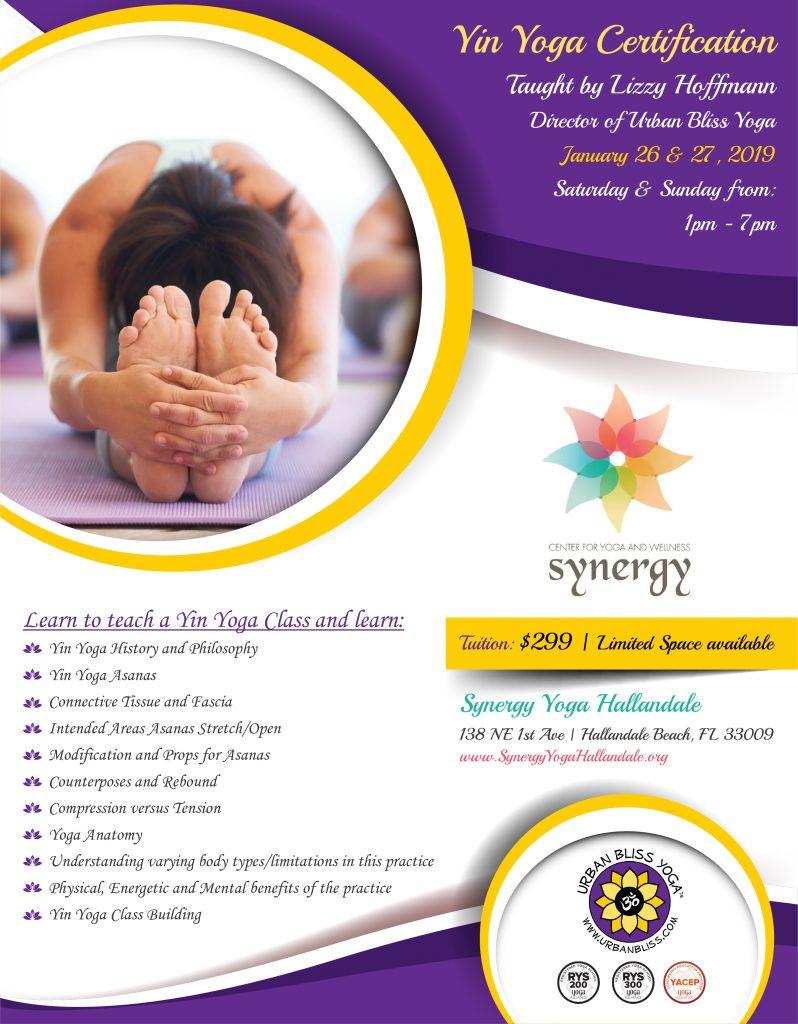 Yin Yoga Certification in Hallandale Beach