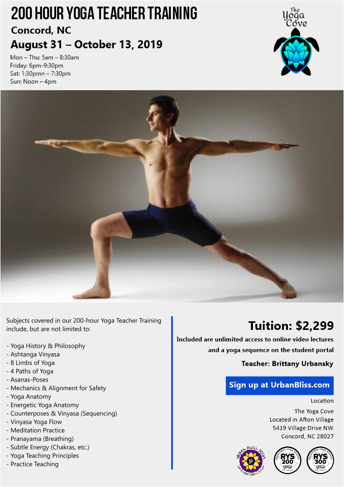 Yoga Teacher Training in North Carolina