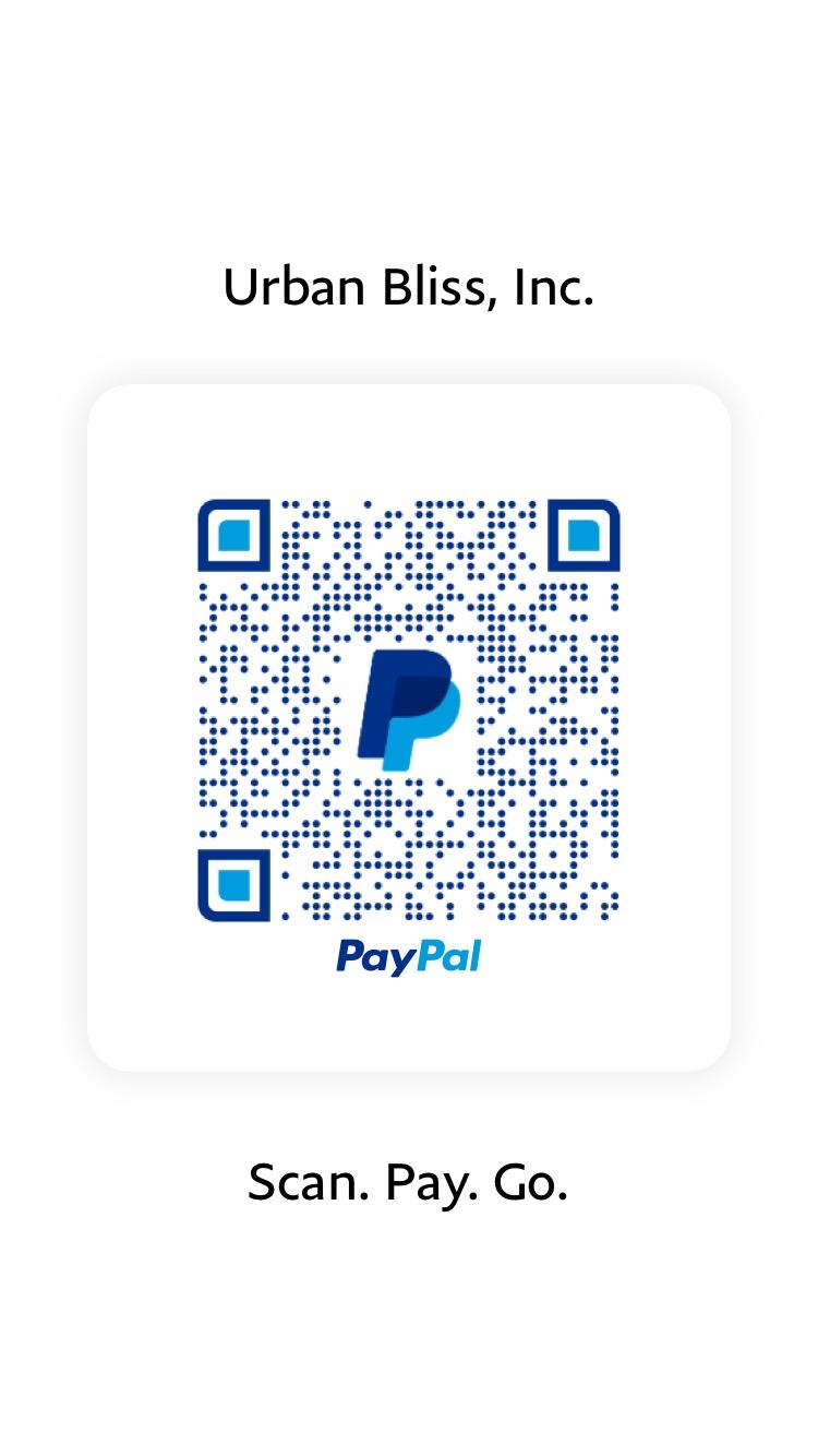 Pay Urban Bliss Yoga via PayPal