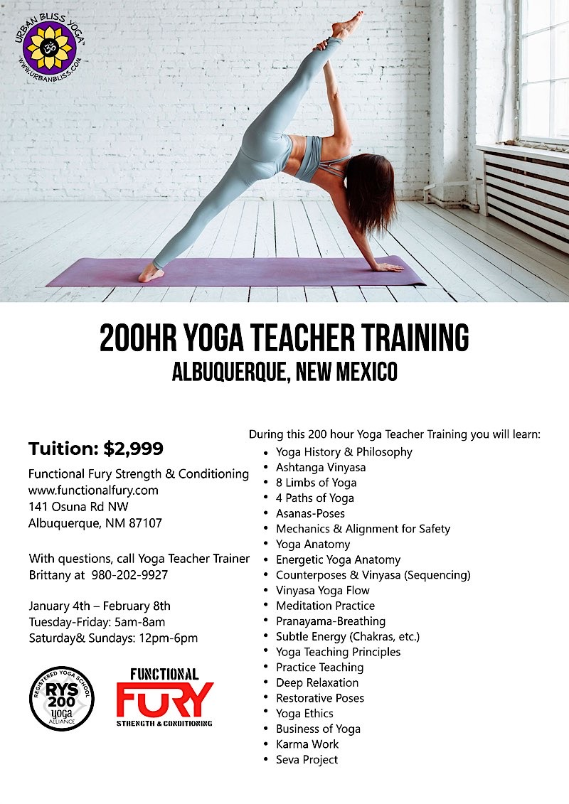 Yoga Teacher Training in Albuquerque